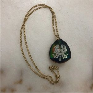 Vintage Intaglio Cameo Necklace